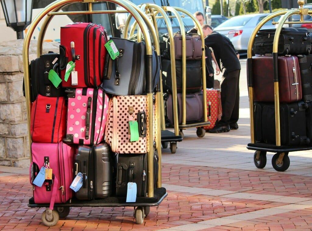 beaucoup de bagages
