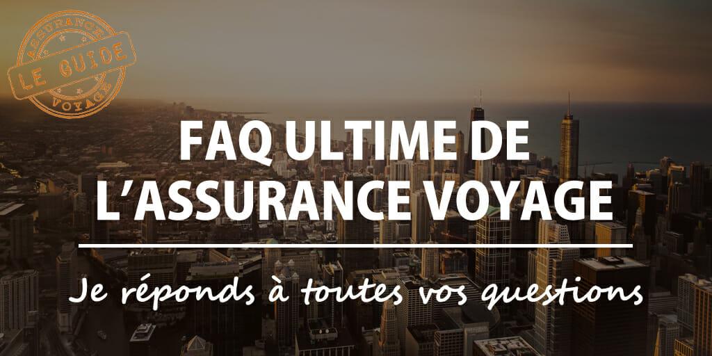 faq assurance voyage