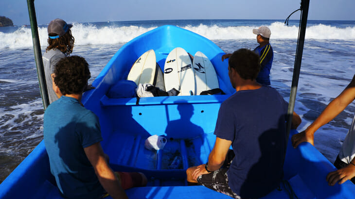 bateau surf panama