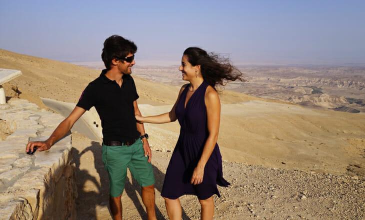 jonathan et sa femme en israel